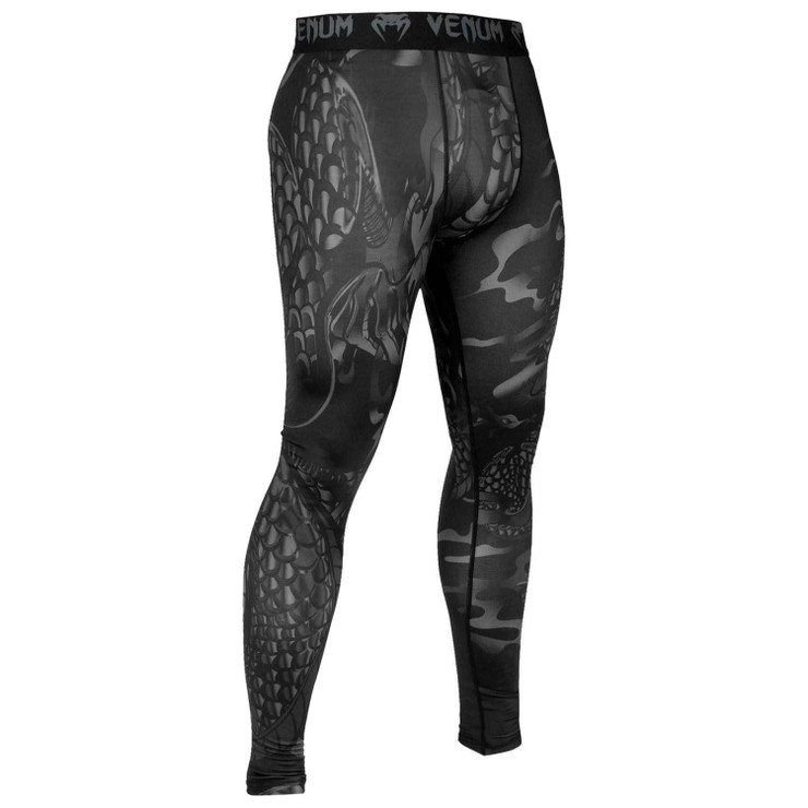 Venum Dragon's Flight Spats Black
