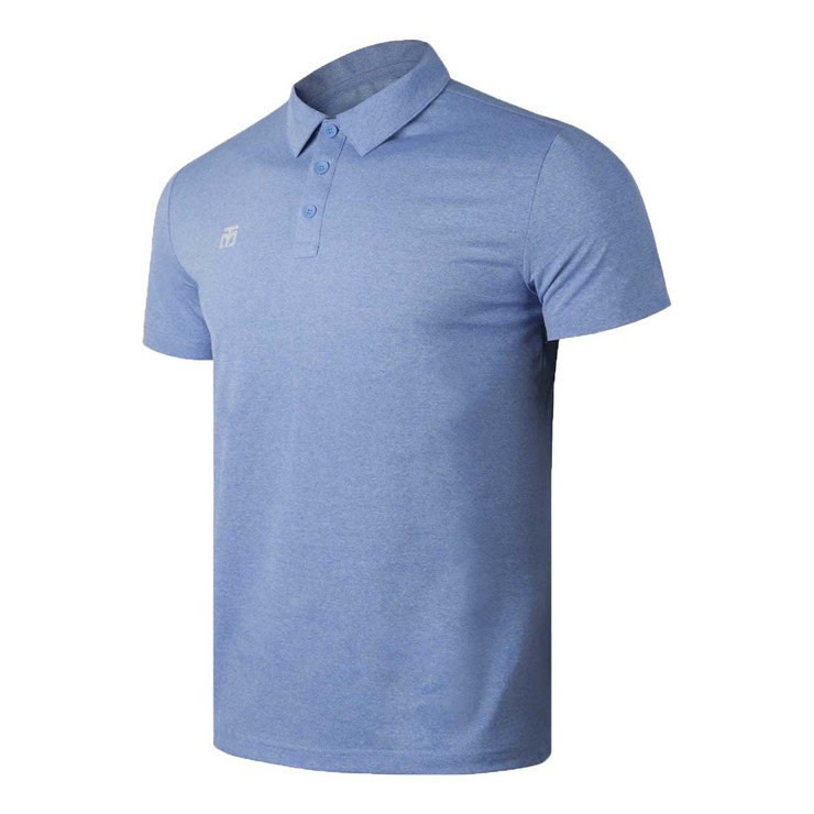 Mooto Performance Polo Shirt Sky Blue