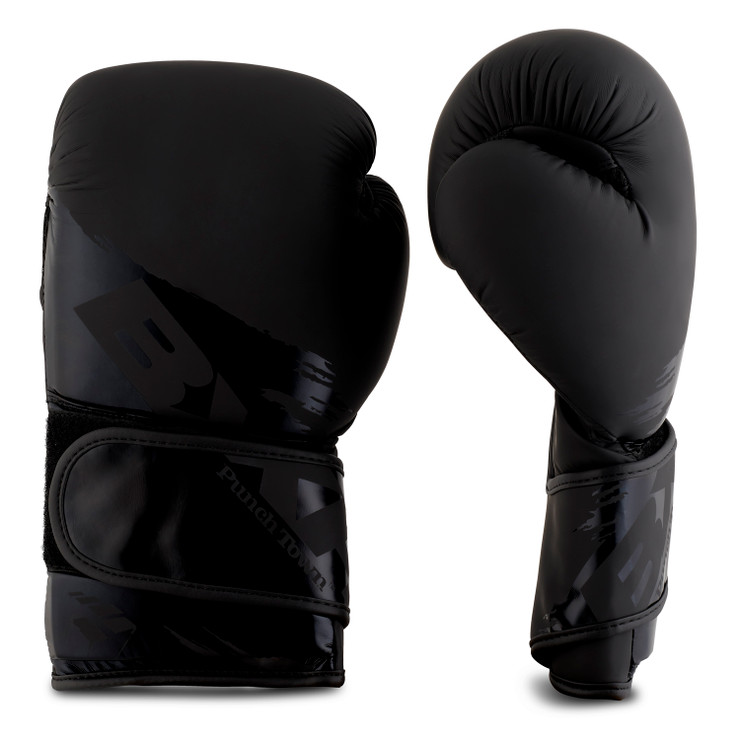 PunchTown BXR KR Boxing Glove Black/Black
