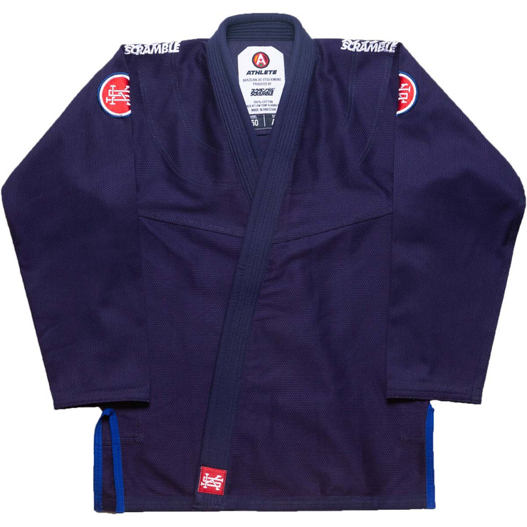 Scramble Athlete V4 450 BJJ Gi Limited Edition Navy