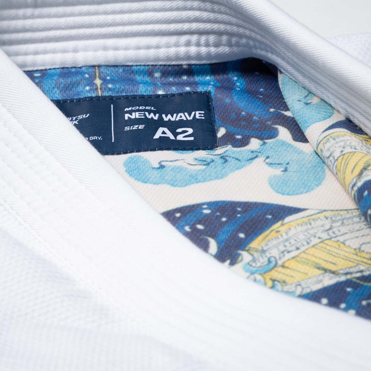 Scramble New Wave BJJ Gi White