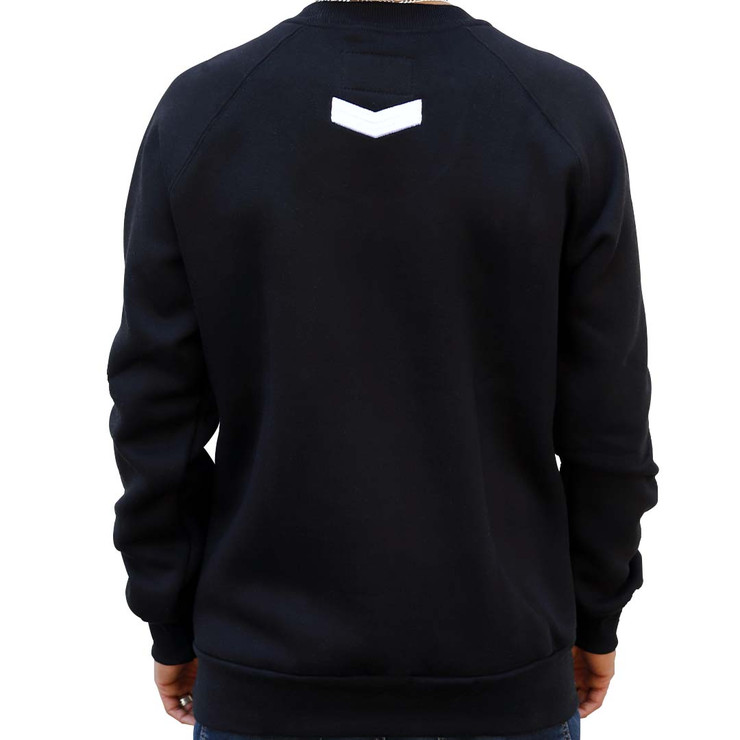 Hyperfly Crewneck Sweatshirt Black