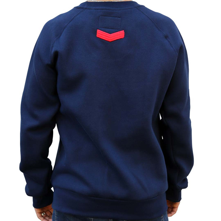 Hyperfly Crewneck Sweatshirt Blue
