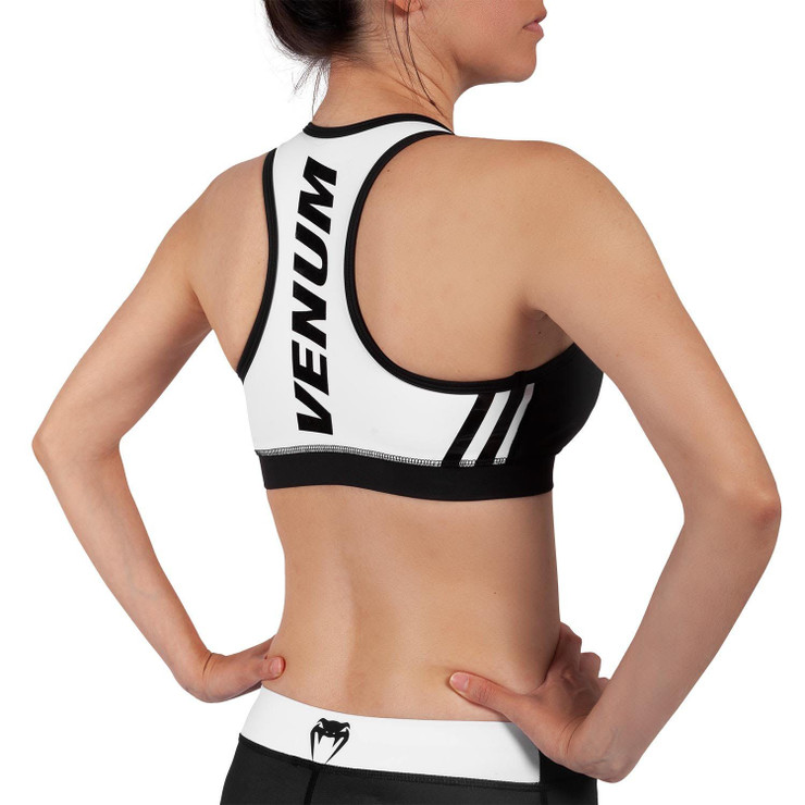 Venum Womens Power 2.0 Sports Bra Black/White