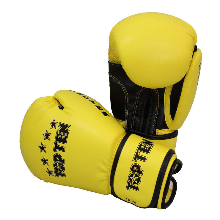 Top Ten R2M 2016 Boxing Gloves 10oz Yellow/Black