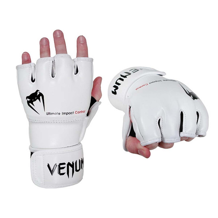 Venum Impact MMA Fight Gloves White