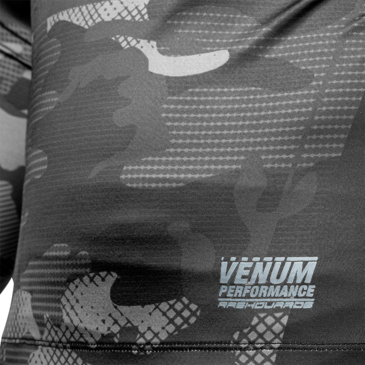 Venum Tactical Rash Guard Black/Black