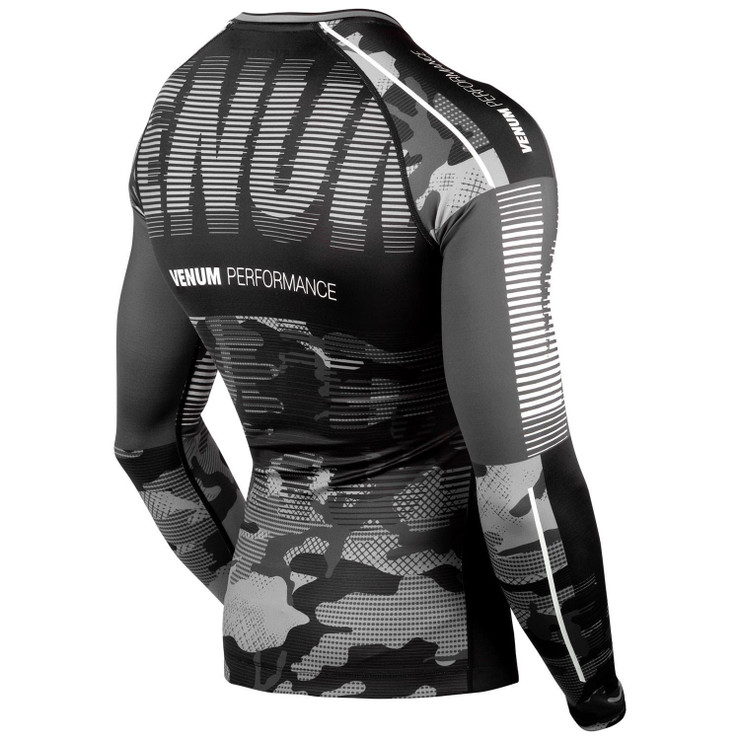 Venum Tactical Rash Guard Black/White