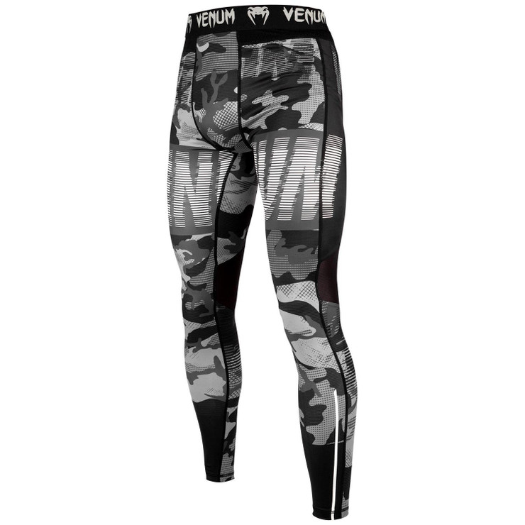 Venum Tactical Spats Black/Black/White