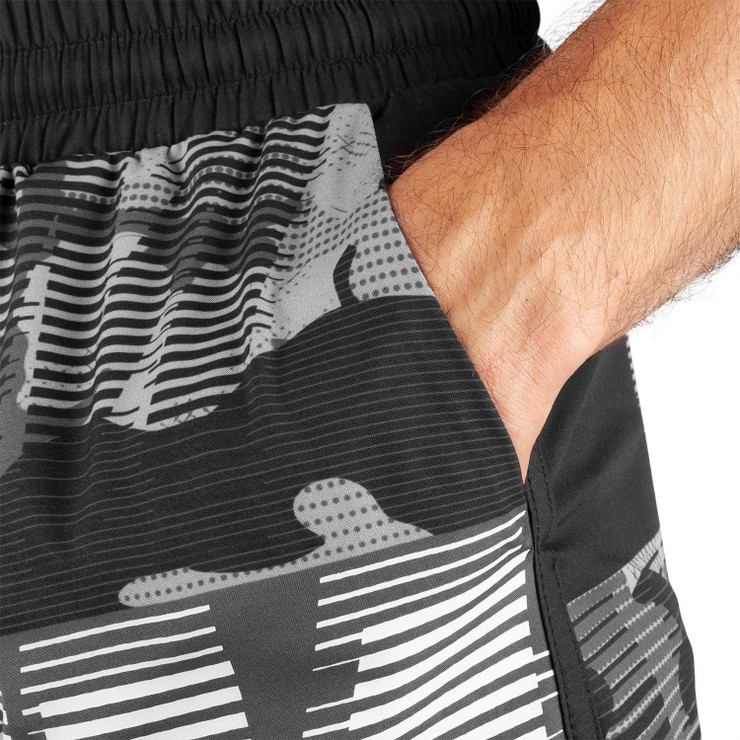Venum Tactical Training Shorts Black/White