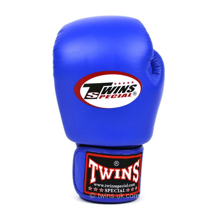 Twins BGVL3-J Junior Velcro Boxing Gloves Blue
