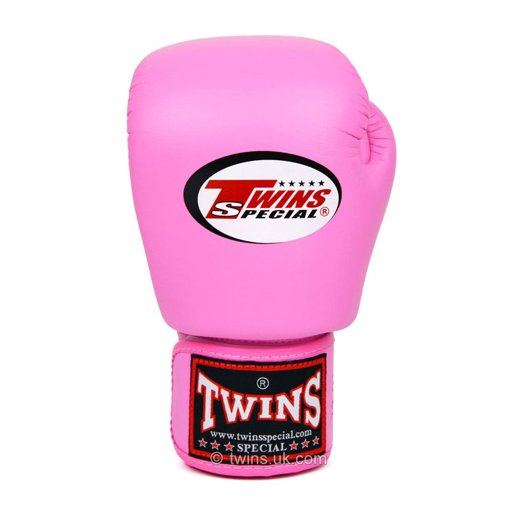 Twins BGVL3-J Junior Velcro Boxing Gloves Pink