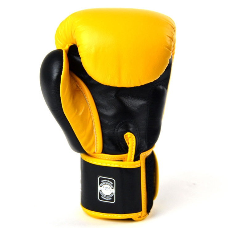 Twins BGVL3 2-Tone Boxing Gloves Yellow/Black