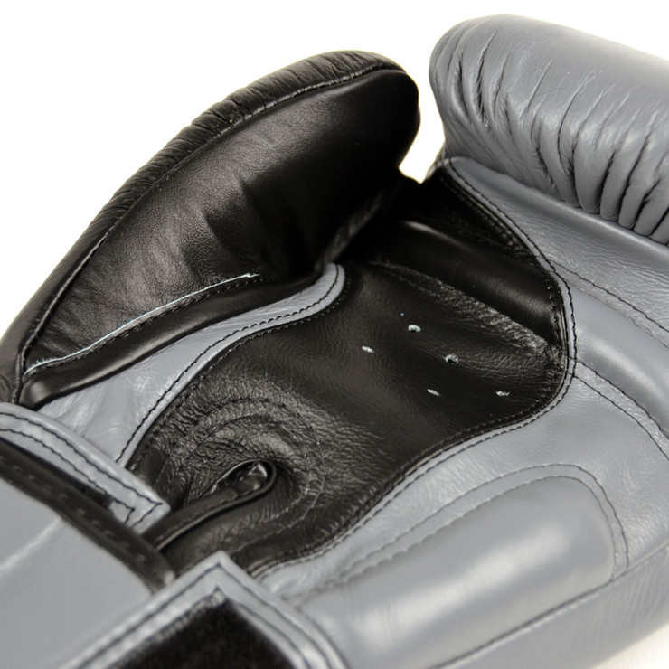 Twins BGVL8 2-Tone Boxing Gloves Black/Grey
