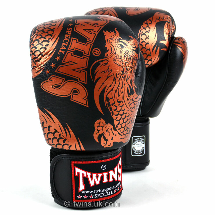Twins Special Boxing Gloves FBGVL3-49 Flying Dragon