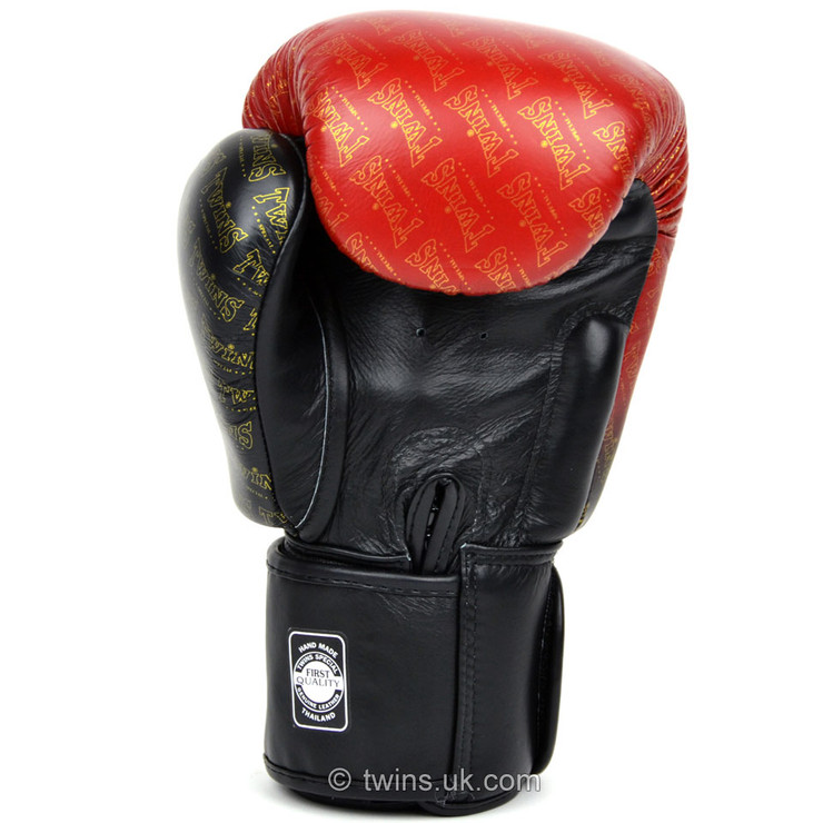 Twins BGVL3-TW1 Fade Boxing Gloves Red