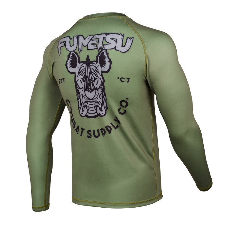 Fumetsu Rampage Supply Co Rash Guard Khaki