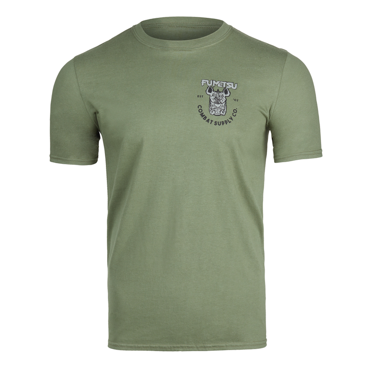 Fumetsu Rampage Supply Co T-Shirt Khaki