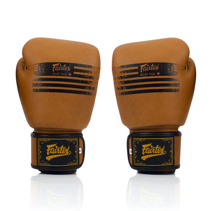 Fairtex BGV21 Legacy Boxing Gloves Brown