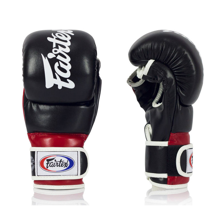 Fairtex FGV18 Super MMA Sparring Gloves Black/Red