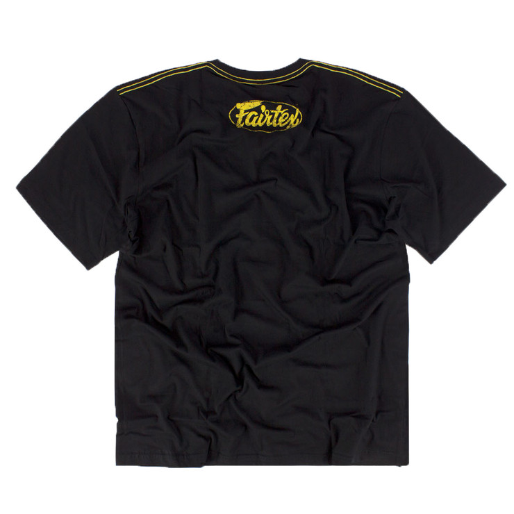 Fairtex TST148 Limited Edition T-Shirt Black/Gold