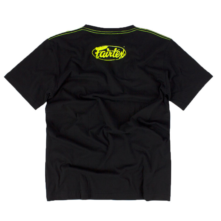 Fairtex TST148 Limited Edition T-Shirt Black/Green