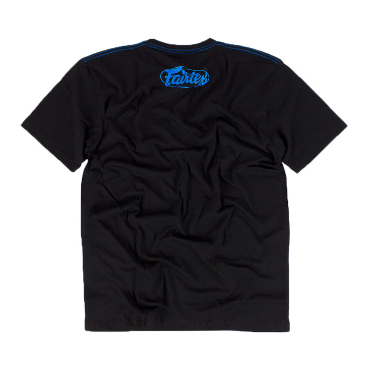 Fairtex TST148 Limited Edition T-Shirt Black/Blue