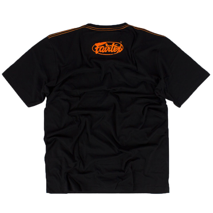 Fairtex TST148 Limited Edition T-Shirt Black/Orange