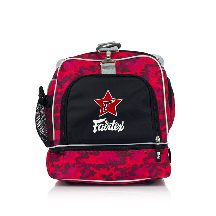 Fairtex BAG2 Heavy Duty Camo Gym Bag Red