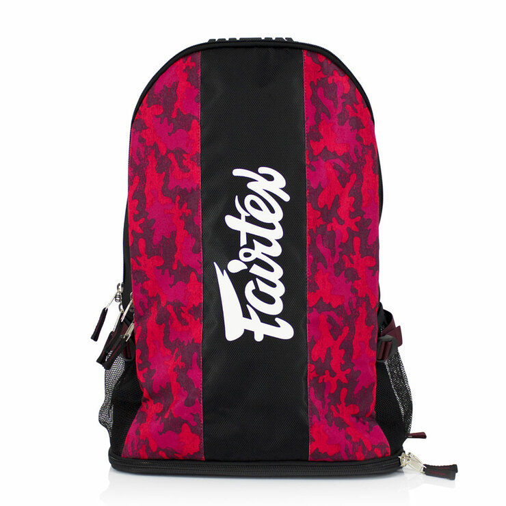Fairtex BAG4 Camo Rucksack Red