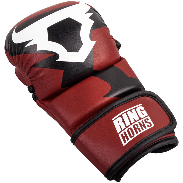 Ringhorns Charger MMA Sparring Gloves Red