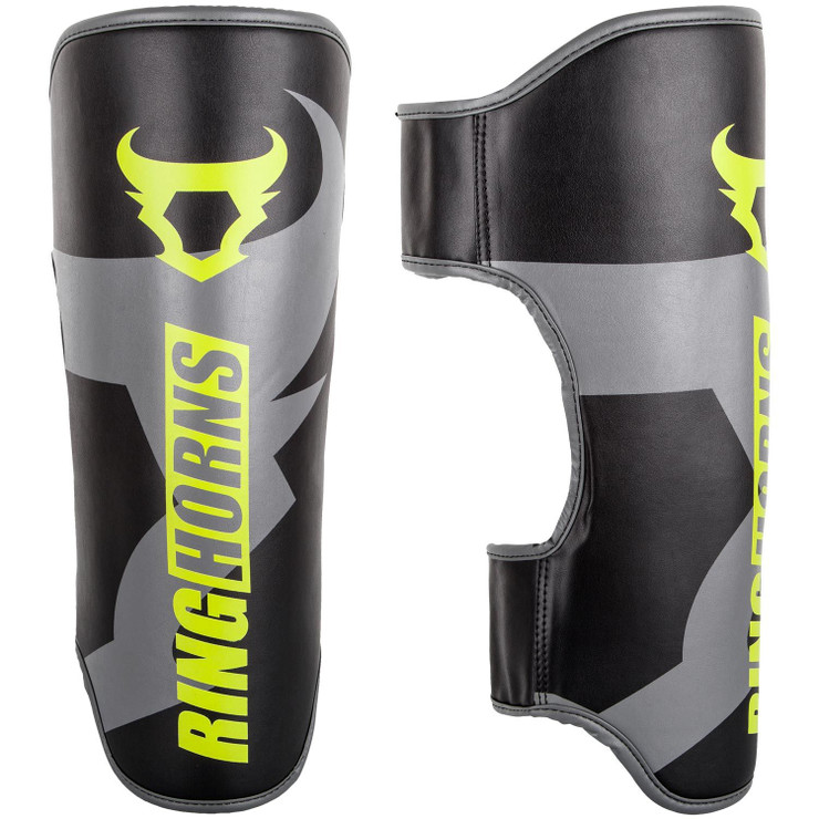 Ringhorns Charger Shin Guards Black/Yellow