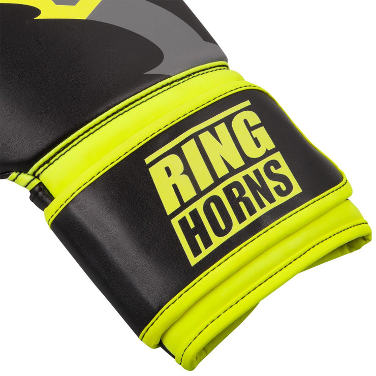 Ringhorns Charger Boxing Gloves Black/Yellow