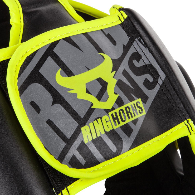 Ringhorns Charger Headguard Black/Yellow