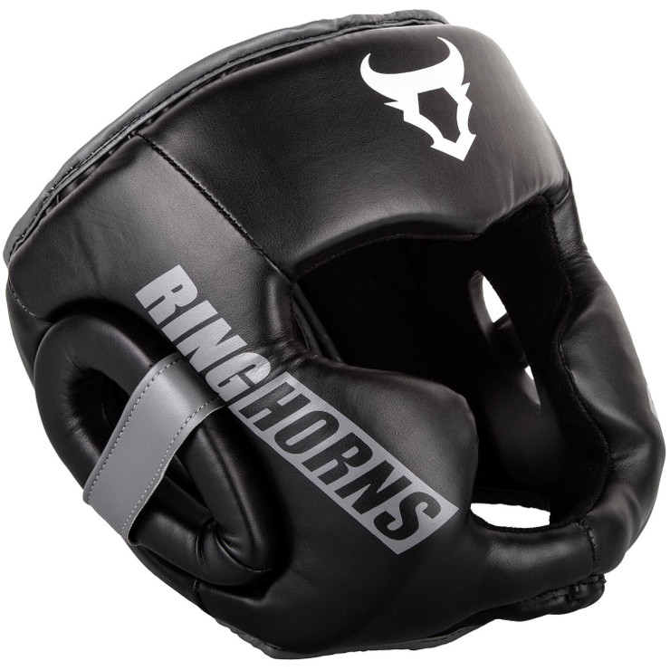 Ringhorns Charger Headguard Black/White