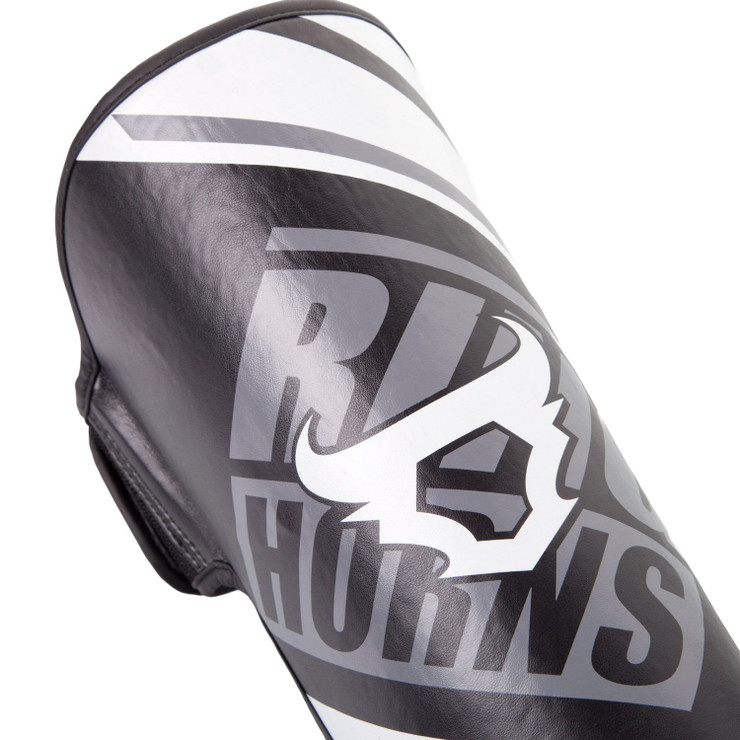 Ringhorns Nitro Shin/Instep Guards Black/White