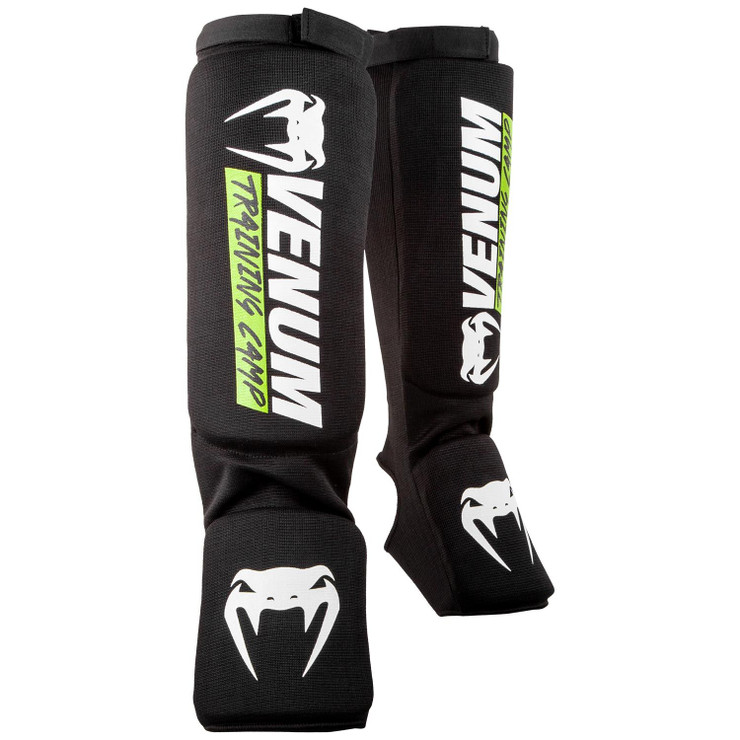 Venum Training Camp 2.0 Shin Guards Black/Yellow