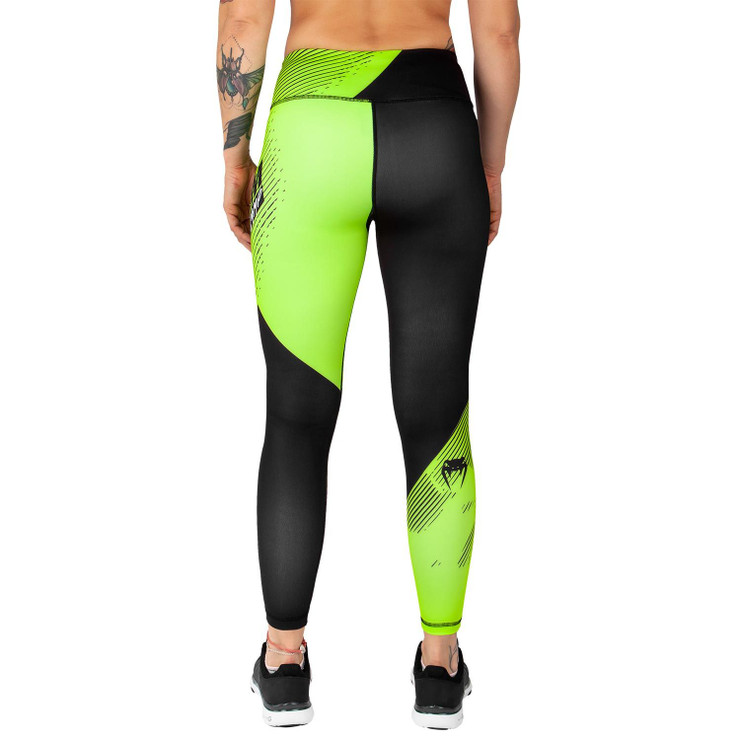 Venum Training Camp 2.0 Ladies Leggings Black/Yellow