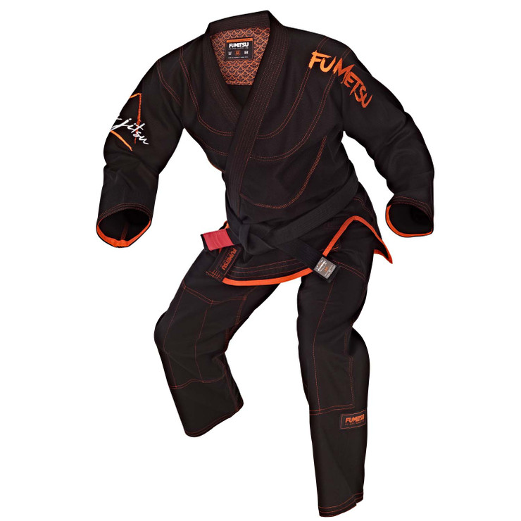 Fumetsu Elements Fire 550 BJJ Gi Black