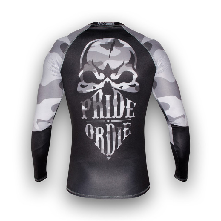 Pride Or Die Reckless Urban Camo Rash Guard
