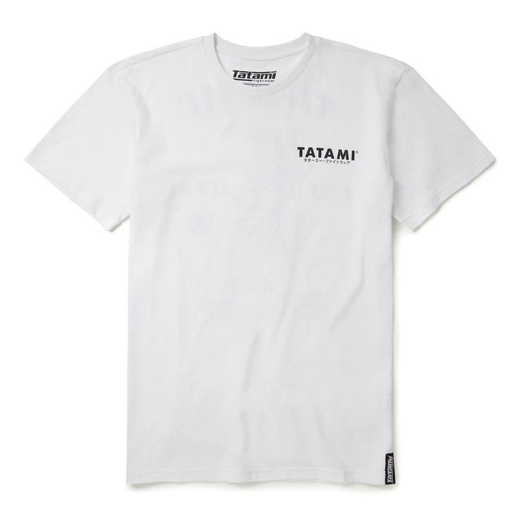 Tatami Fightwear Tiger Style T-Shirt White