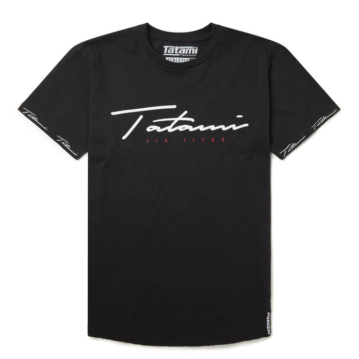 Tatami Fightwear Autograph T-Shirt Black