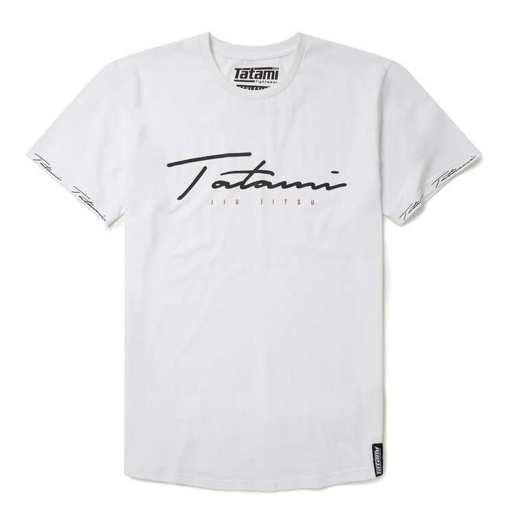 Tatami Fightwear Autograph T-Shirt White
