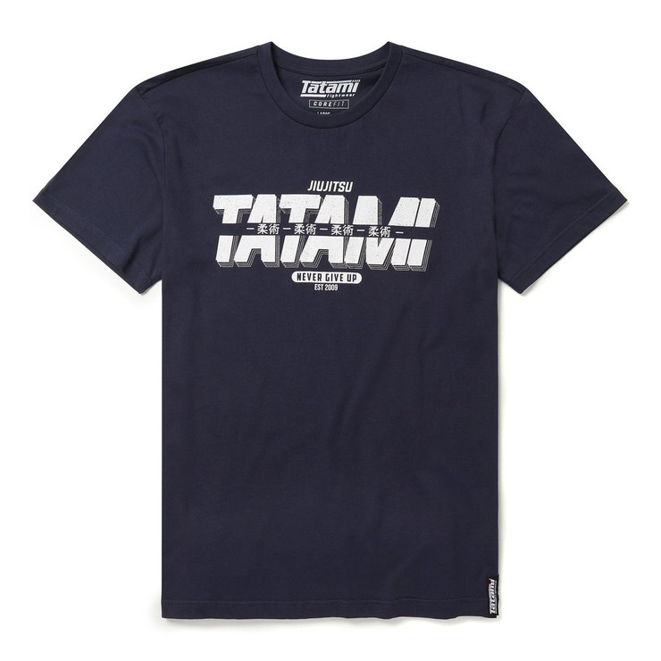 Tatami Fightwear Burnout T-Shirt Navy