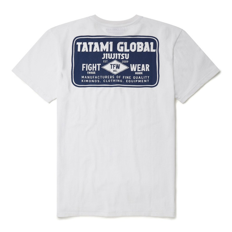 Tatami Fightwear Global Industry Logo T-Shirt White