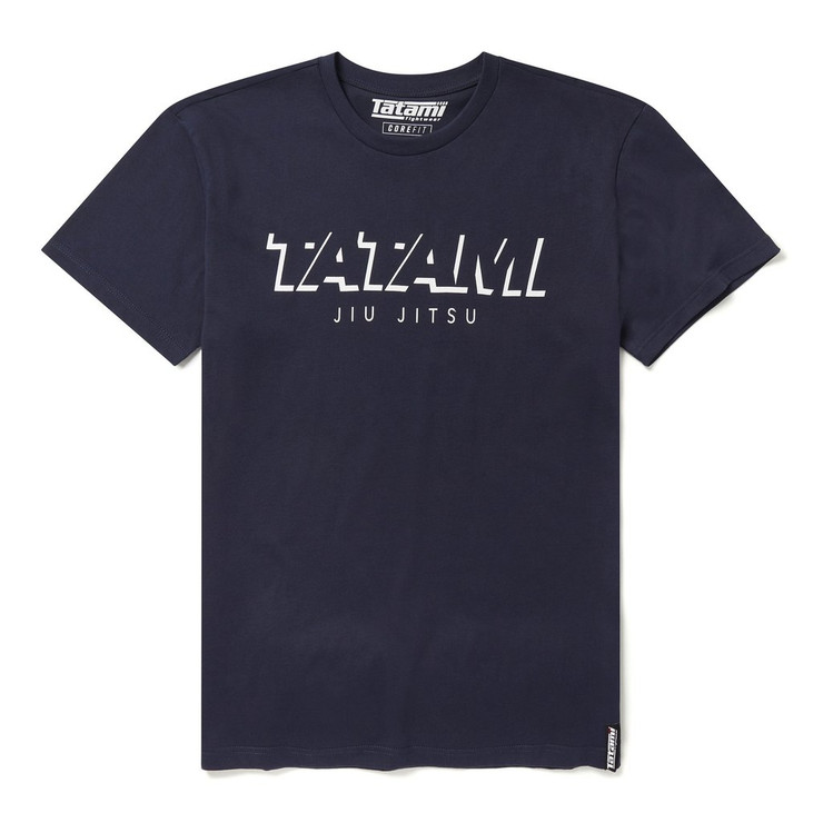 Tatami Fightwear Shadow Collection T-Shirt Navy