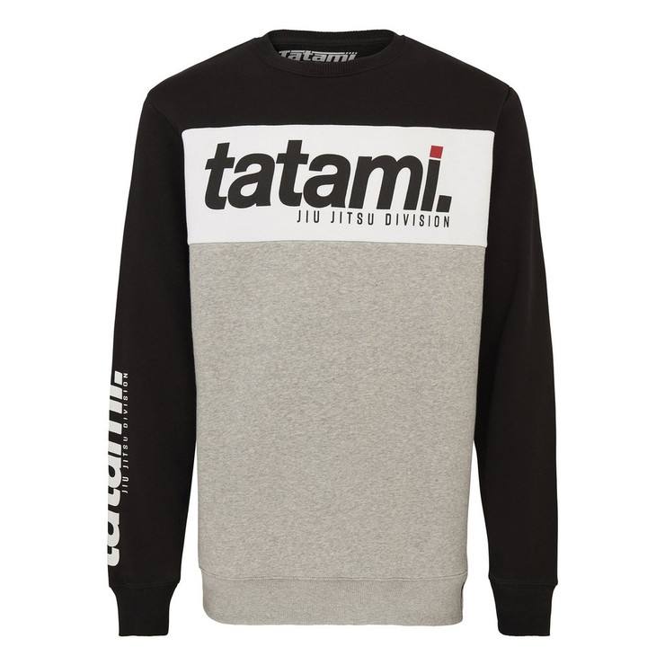 Tatami Fightwear Base Collection Black Tri-Panel Sweatshirt