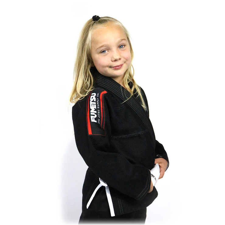 Fumetsu Kids Shield BJJ Gi Black