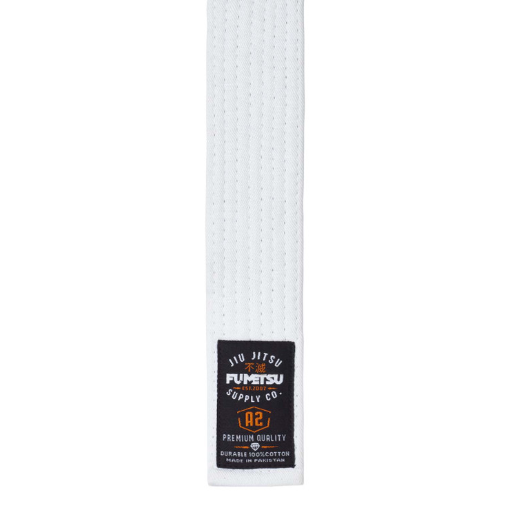 Fumetsu V2 Adult BJJ Belt White