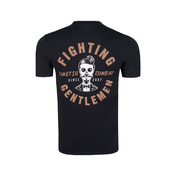Fumetsu Fighting Gentlemen T-Shirt Black